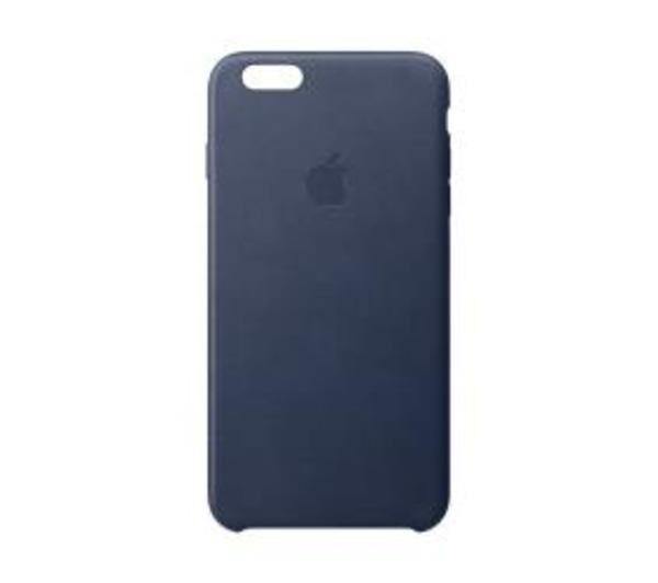 APPLE Coque de protection pour téléphone portableCuir - bleu nuit - pour iPhone 6s