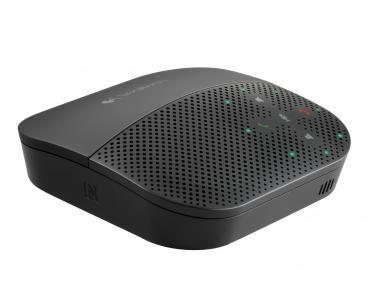 LOGITECH P710E Téléphone portable USB/Bluetooth Noir haut-parleur