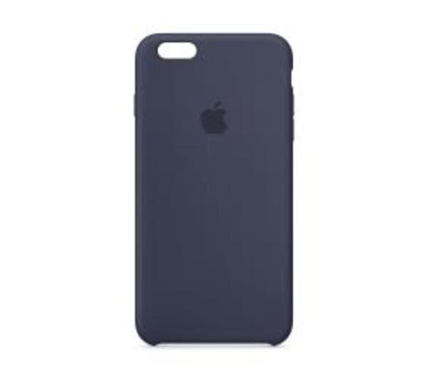 APPLE Coque de protection pour téléphone portable - silicone - bleu nuit - pour iPhone 6 Plus, 6s Plus