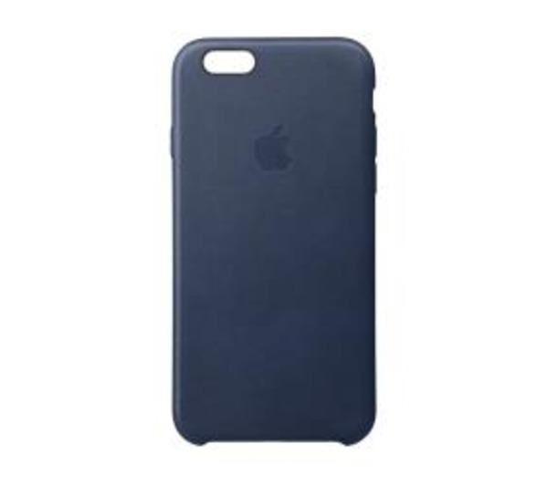 APPLE Coque de protection pour téléphone portableCuir - bleu nuit - pour iPhone 6 Plus, 6s Plus