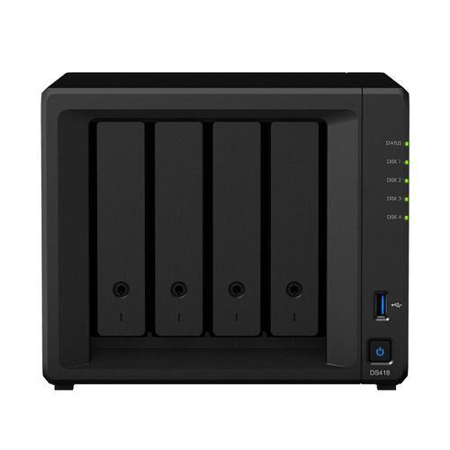 SYNOLOGY DiskStation DS418 serveur de stockage Ethernet/LAN Mini Tour Noir NAS