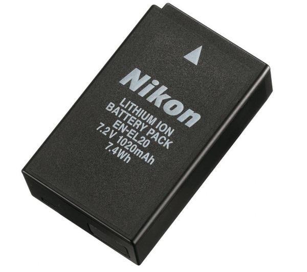 NIKON Batterie Lithium-Ion EN-EL20