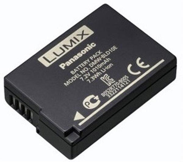 PANASONIC Batterie DMW-BLD10E pour GF2, G3 et GX1