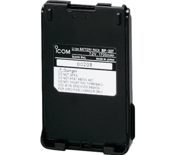 ICOM Ensemble batterie BP-227