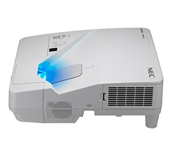 NEC UM301X - Projecteur LCD - 3000 ANSI lumens - 1024 x 768 - 4:3 - Objectif fixe de portée ultra courte - LAN