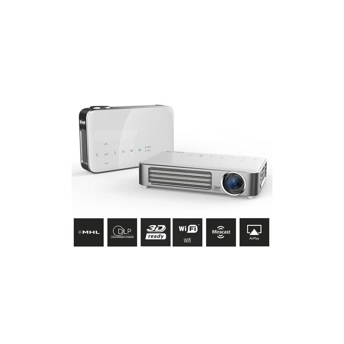 VIVITEK QUMI Q6 blanc Videoprojecteur WXGA HD WiFi