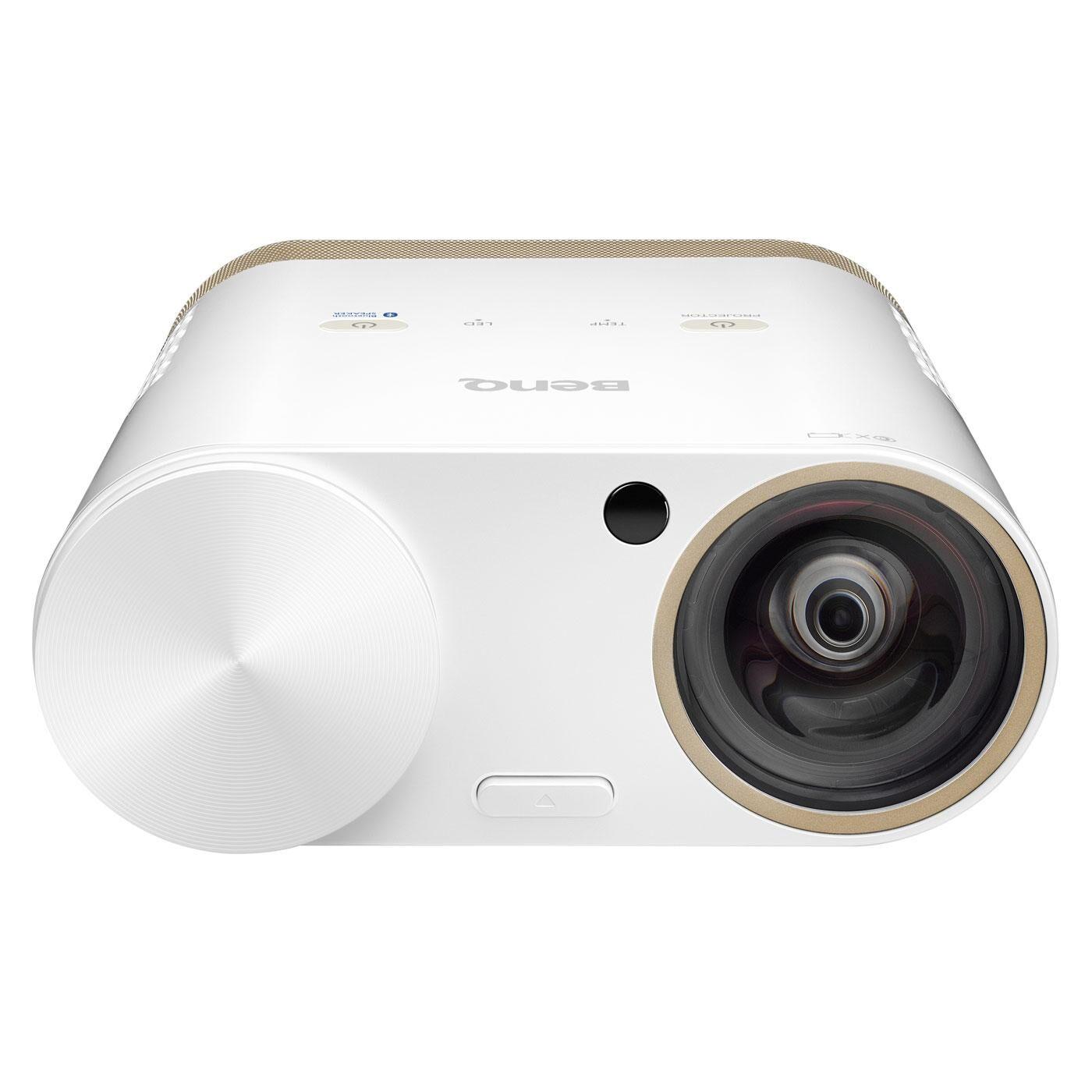 BENQ Vidéoprojecteur i500 multimédia portable DLP WXGA 3D Ready 1280 x 800 Wi-Fi/Bluetooth/HDMI 500 Lumens - Focale courte