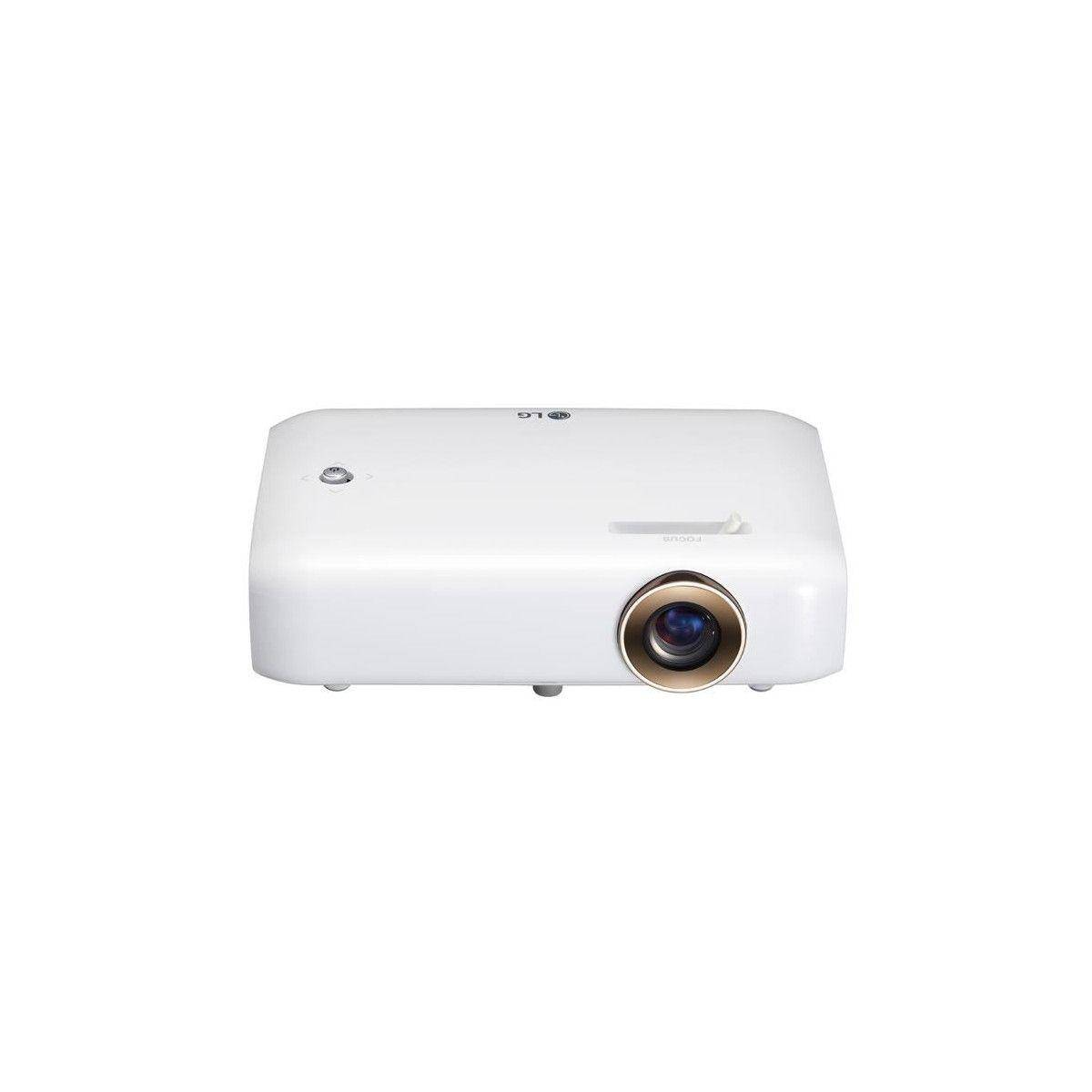 LG PH550G Videoprojecteur LED HD 550 Lumens / 720 p / Contraste 100 000:1 / Bluetooth / HDMI / USB