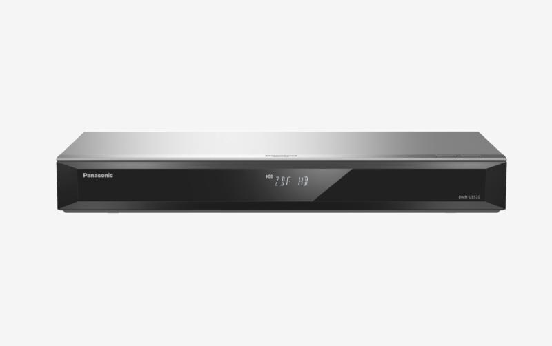 PANASONIC DMR-UBS70EGS Enregistreur Blu-Ray Compatibilité 3D Argent