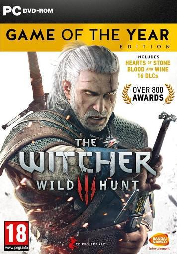 NAMCO The Witcher 3 Wild Hunt GOTY PC