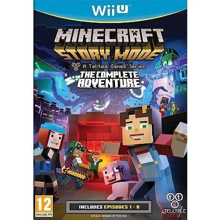 TELLTALE GAMES Minecraft: Story Mode - The Complete Adventure, Wii U jeu vidéo Basique Français