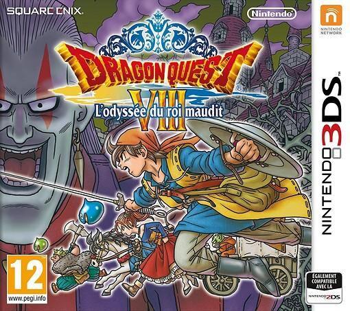 NINTENDO Dragon Quest VIII L Odyssee du Roi Maudit 3DS DS