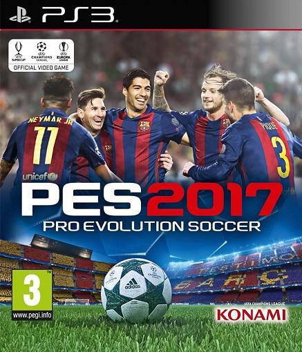 KONAMI PES 2017 Pro Evolution Soccer 2017 PS3