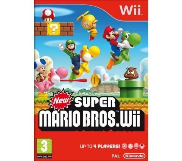 NINTENDO New Super Mario Bros Wii Select