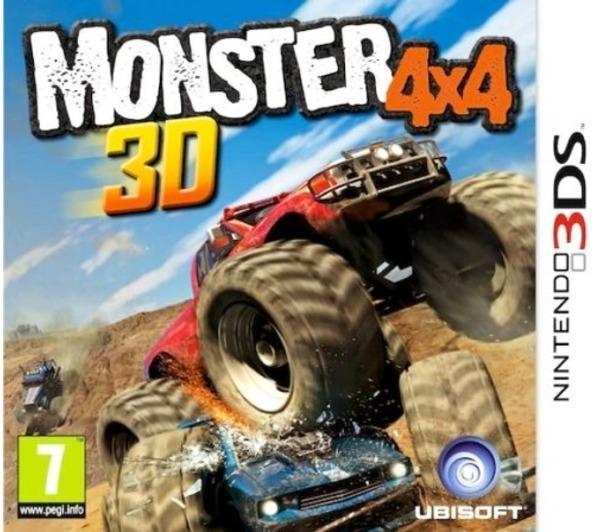 UBISOFT Monster Truck 4x4 3D [3DS]