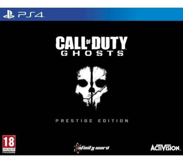 ACTIVISION PS4 CALL OF DUTY GHOSTS EDITION PRESTIGE
