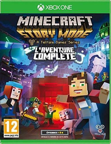 FOCUS Minecraft Story Mode L aventure Complete XBOX ONE