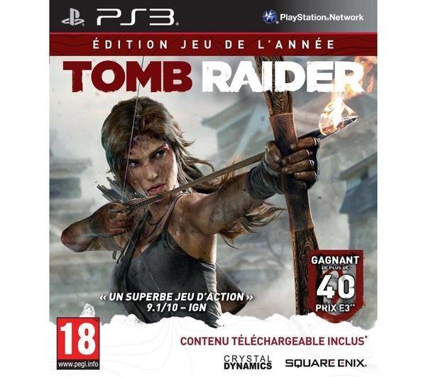 SQUARE ENIX PS3 TOMB RAIDER EDITION JEU DE L ANNEE