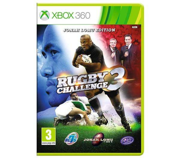 BIGBEN INTERACTIVE Rugby Challenge 3 Jonah Lomu édition pour XBOX 360
