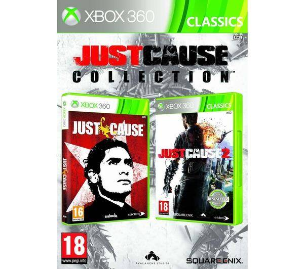 EIDOS INTERACTIVE XBOX 360 JUST CAUSE COLLECTION