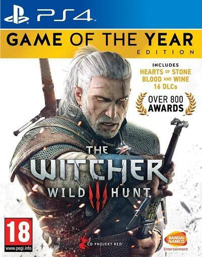 NAMCO The Witcher 3 Wild Hunt GOTY PS4