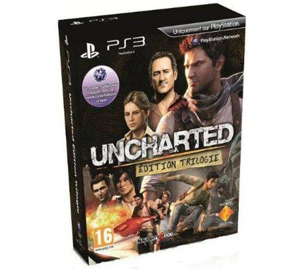 SONY Uncharted Edition Trilogy