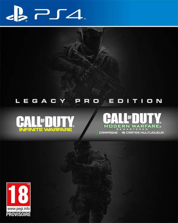 ACTIVISION Call of Duty : Infinite Warfare Edition Legacy Pro