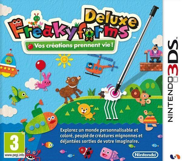 NINTENDO FreakyForms Deluxe [3DS]