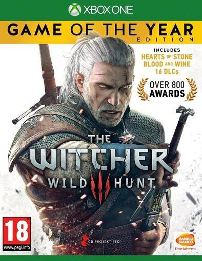 NAMCO The Witcher 3 Wild Hunt GOTY XBOX ONE