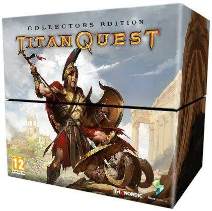 THQ NORDIC Titan Quest Collector's Editon, PS4 jeu vidéo Collectionneurs PlayStation 4 Anglais