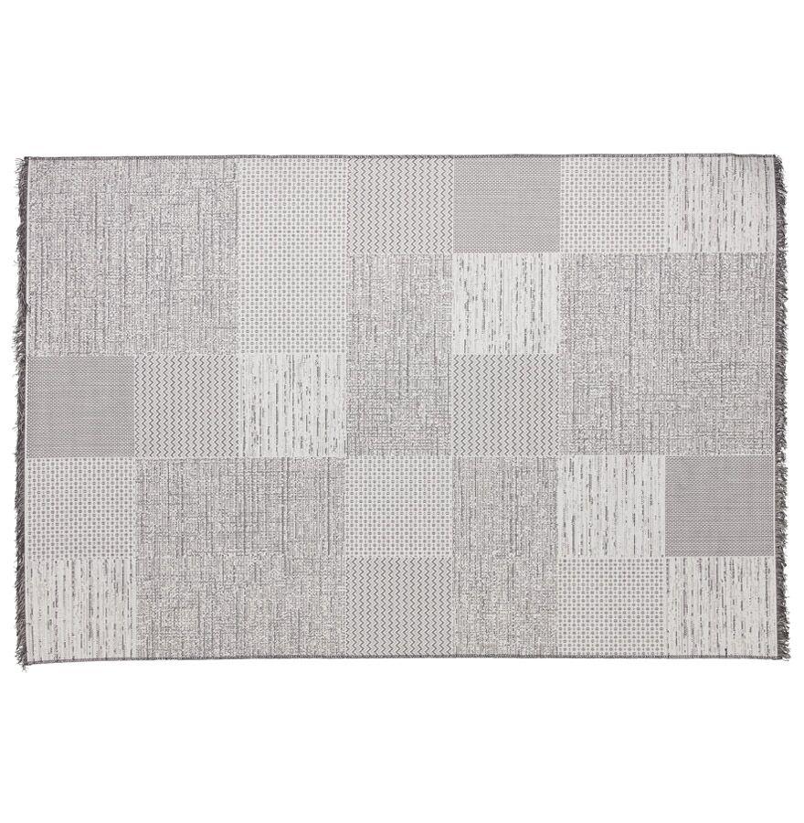 Alterego Tapis design 'ARKEO' 200x290 cm avec motifs carrés dégradés