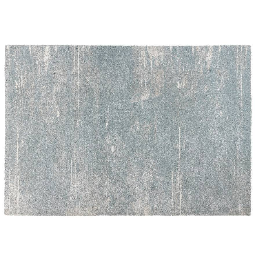Alterego Tapis design 'FRESH' 160/230 cm bleu clair avec motifs