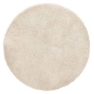 Alterego Tapis rond design 'TISSO' beige - Ø 160 cm - Publicité