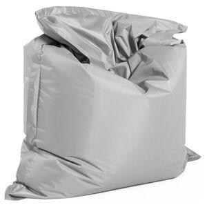 Alterego Pouf géant 'LAZY' gris 180x140cm - Publicité