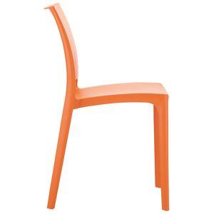 Alterego Chaise design 'ENZO' orange - Publicité
