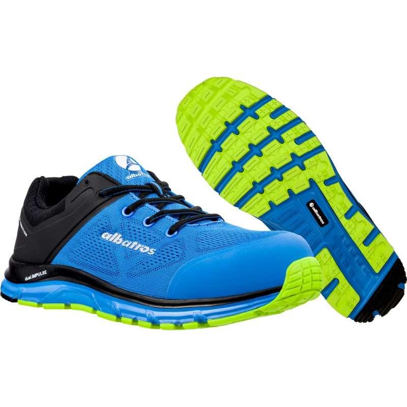ALBATROS Chaussures de Sécurité ALBATROS Lift Blue Impulse Low 64.661.0 - Taille - 45