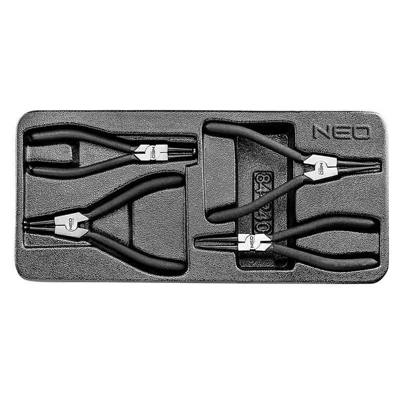 NEO TOOLS Insert pinces Circlips NEO TOOLS 84-240 4 pièces