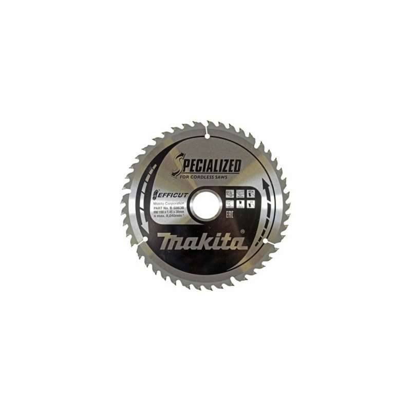 MAKITA Lame de scie circulaire MAKITA B-68638 SPECIALIZED EFFICUT accu Ø190mm