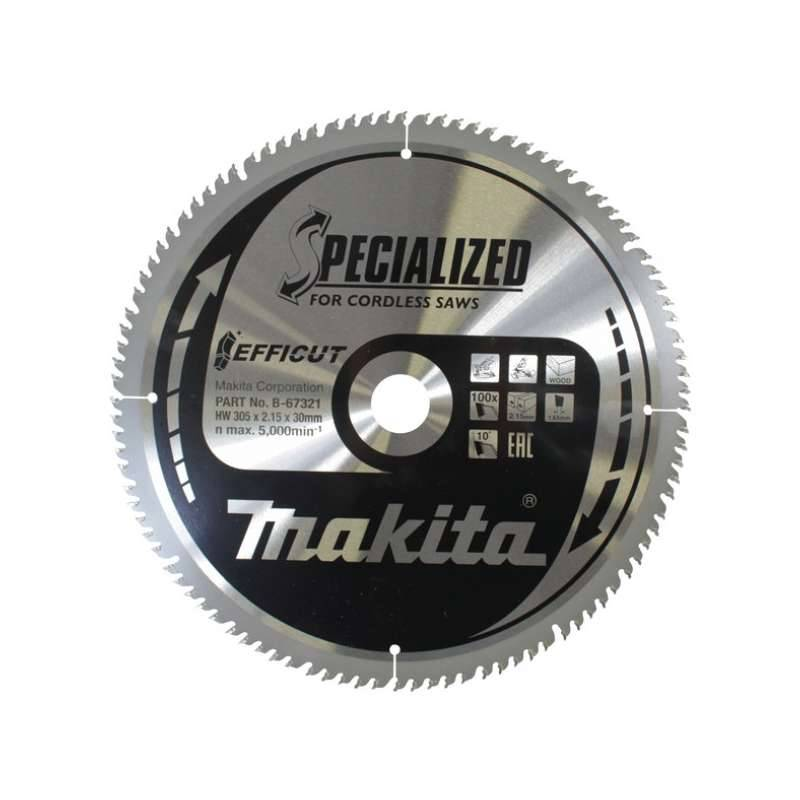 MAKITA Lame de scie circulaire MAKITA B-67321 SPECIALIZED EFFICUT accu Ø305mm