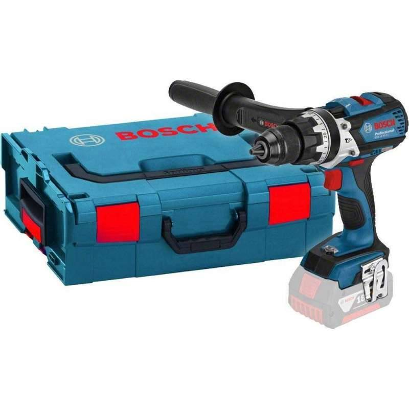 BOSCH PRO Perceuse visseuse BOSCH GSR 18VE-EC Professional 18V (Machine Nue) en coffret L-BOXX