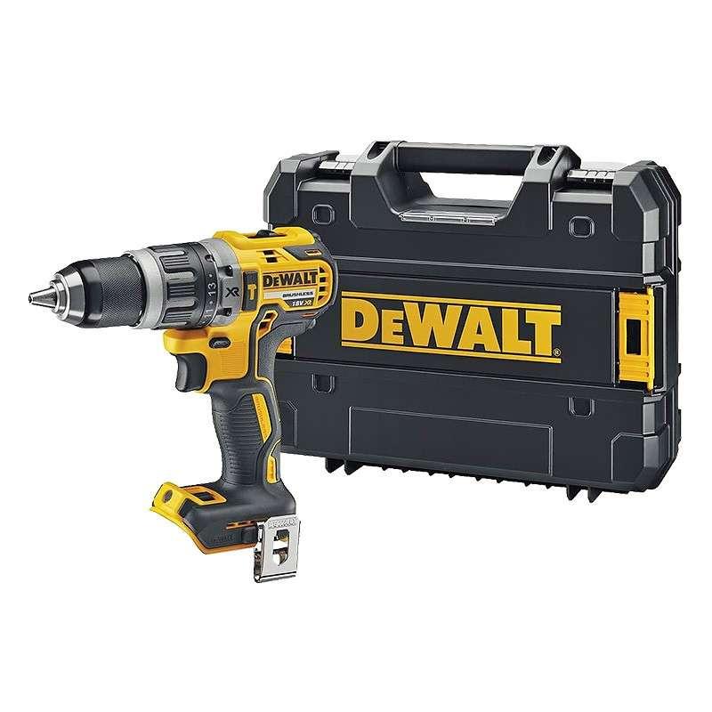 DEWALT Perceuse Visseuse à Percussion DEWALT DCD796NT 18 V XR Brushless