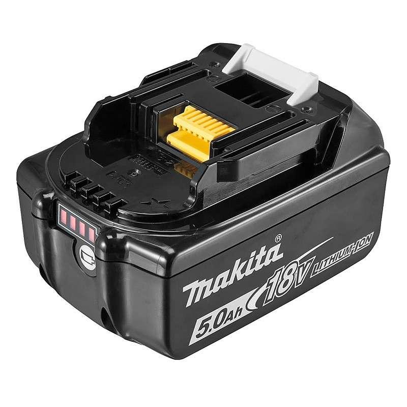 MAKITA Batterie MAKITA BL1850B Li-ion 18 V / 5 Ah (témoin de charge intégré)