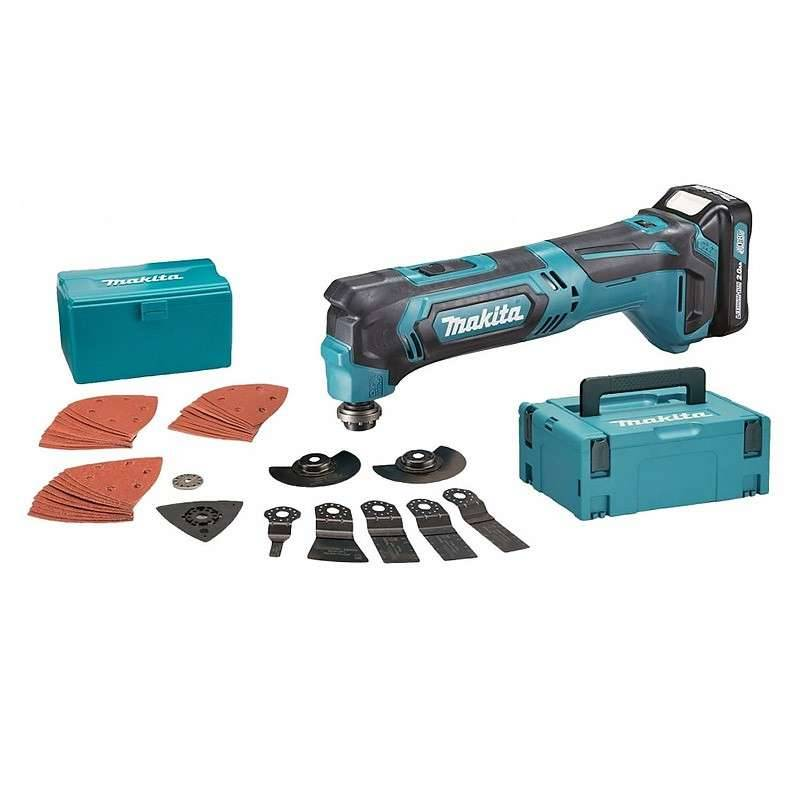 MAKITA Outil Multifonctions oscillant MAKITA TM30DSAJX3 à Batteries CXT 10,8 V (2 x 2,0 Ah)