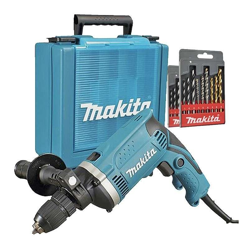 MAKITA Perceuse à Percussion MAKITA HP1631KSP 710 W Ø 13 mm