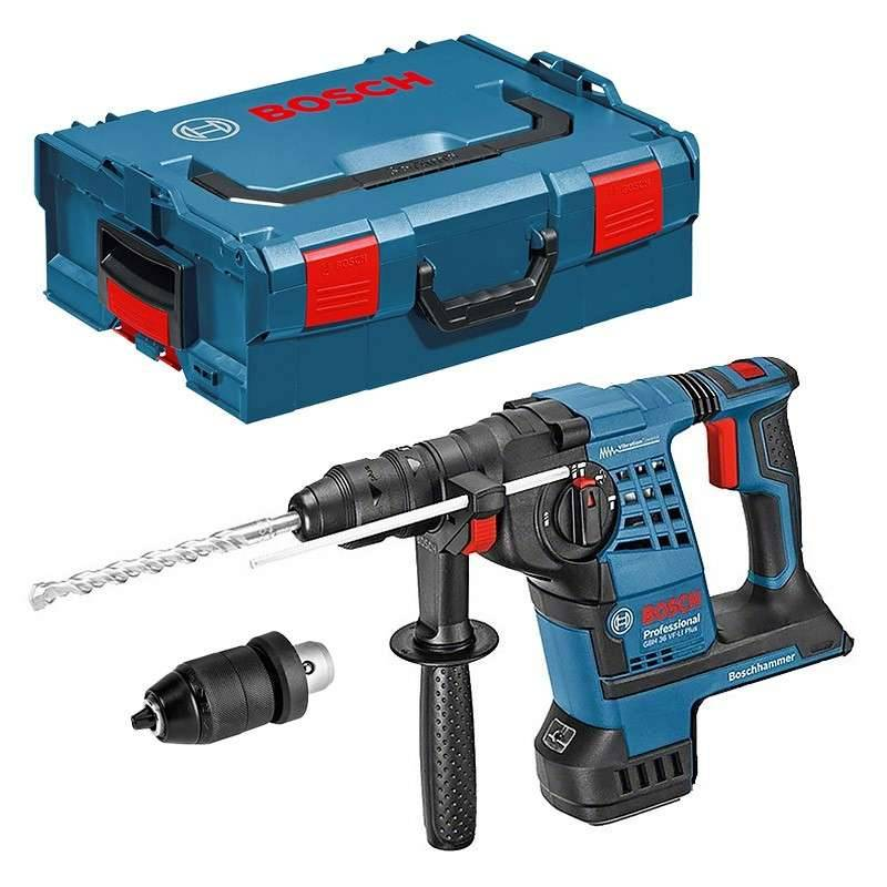 BOSCH PRO Perforateur sans fil Bosch GBH 36 VF-LI Plus Professional SDS+ (Machine Nue) + L-Boxx