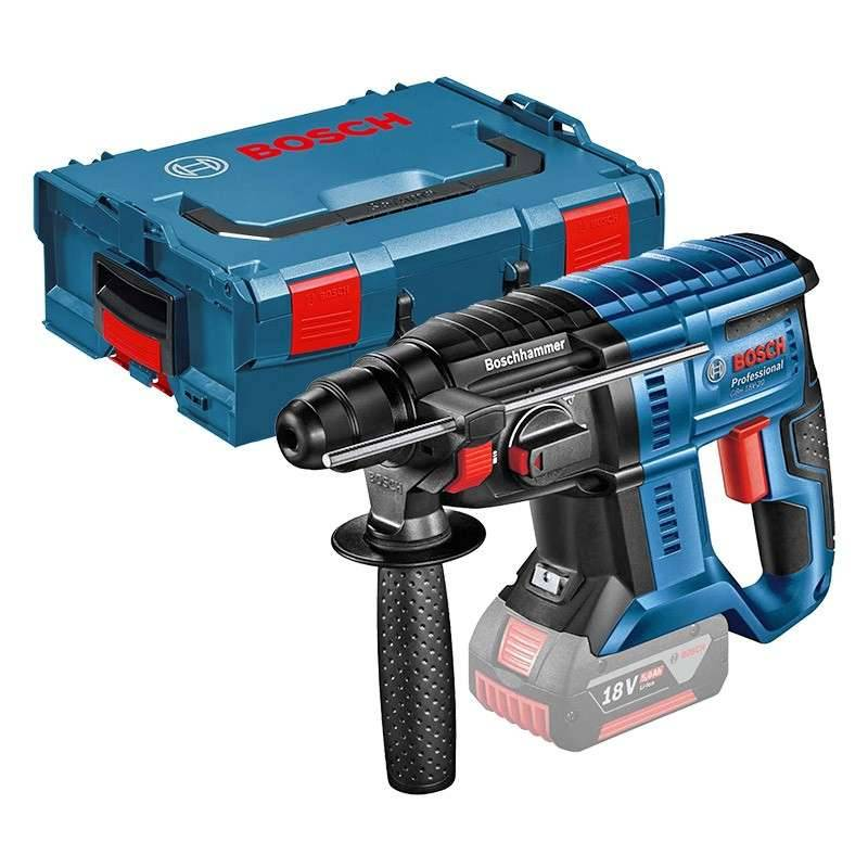 BOSCH PRO Perforateur BOSCH GBH 18V-20 Professional SDS-plus (Machine Seul) + L-Boxx