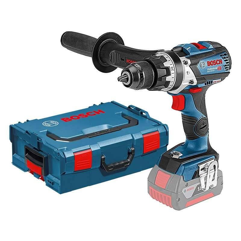 BOSCH PRO Perceuse-visseuse à percussion BOSCH GSB 18V-85 C Professional (Machine Nue) + L-Boxx