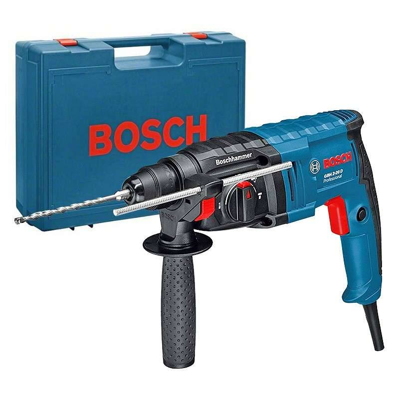 BOSCH PRO Perforateur BOSCH GBH 2-20 D Professional SDS-plus 650W