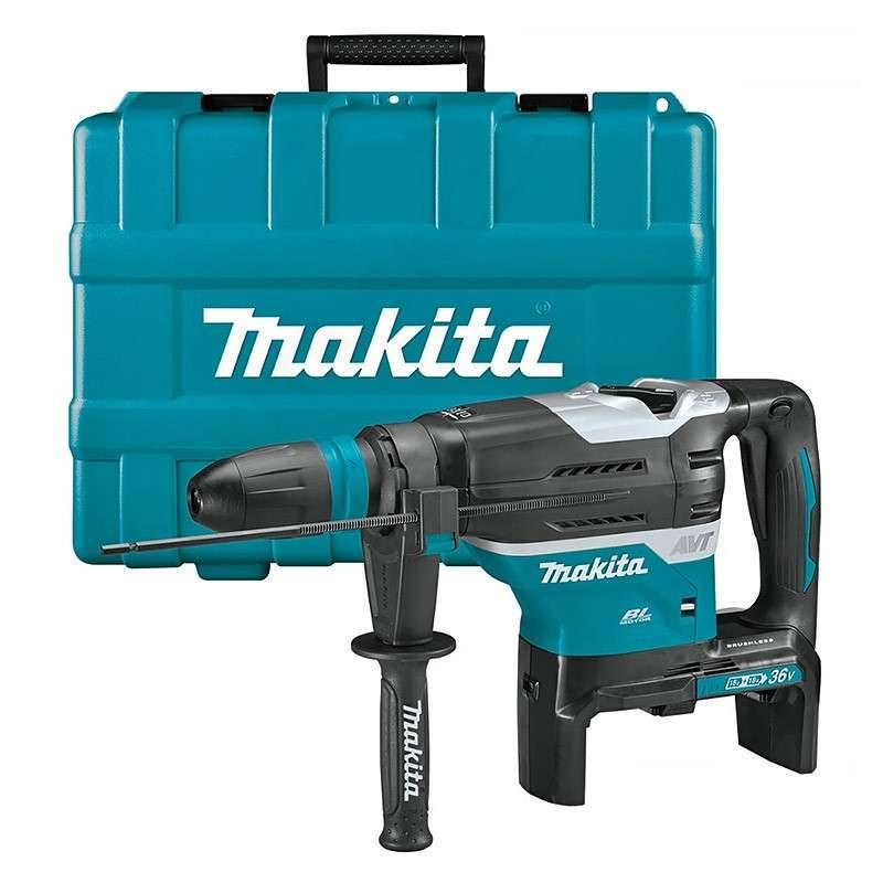 MAKITA Perfo-burineur MAKITA DHR400ZKU SDS-Max 36V (2x18V) Li-Ion 40 mm (Machine Nue)