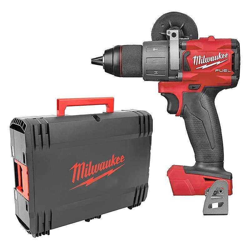 MILWAUKEE Perceuse - Visseuse à percussion MILWAUKEE M18 FPD2-0X M18 FUEL 135Nm (Machine Nue)